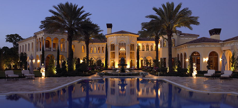 Simmons building award winning south florida custom for Luxury houses in florida